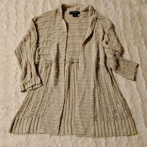 Small cream lace cardigan